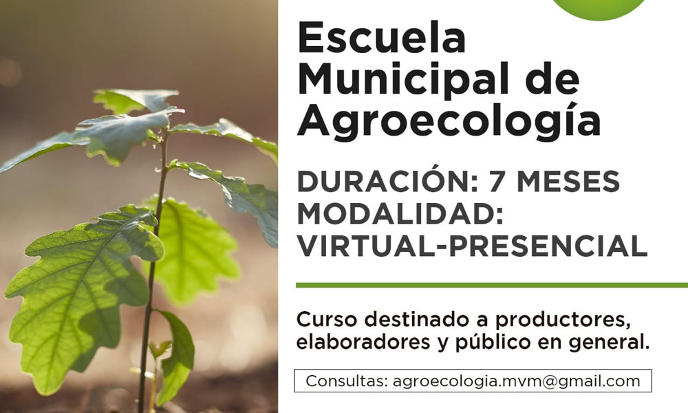CGCyM San Luis formará parte de la Escuela Municipal de Agroecología de Merlo