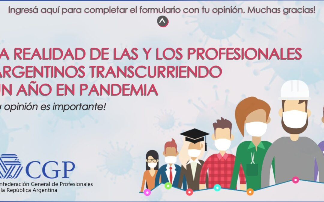 Encuesta sobre la realidad de los profesionales argentinos durante la pandemia