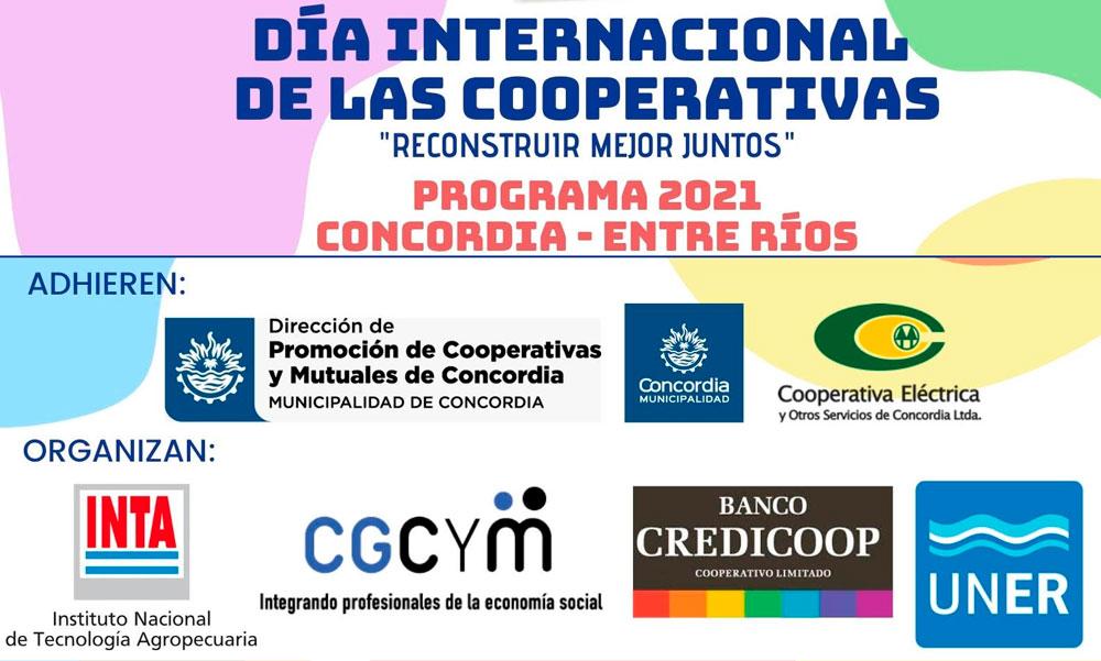 CGCyM Entre Ríos co-organiza distintas actividades por el Día Internacional del Cooperativismo 2021