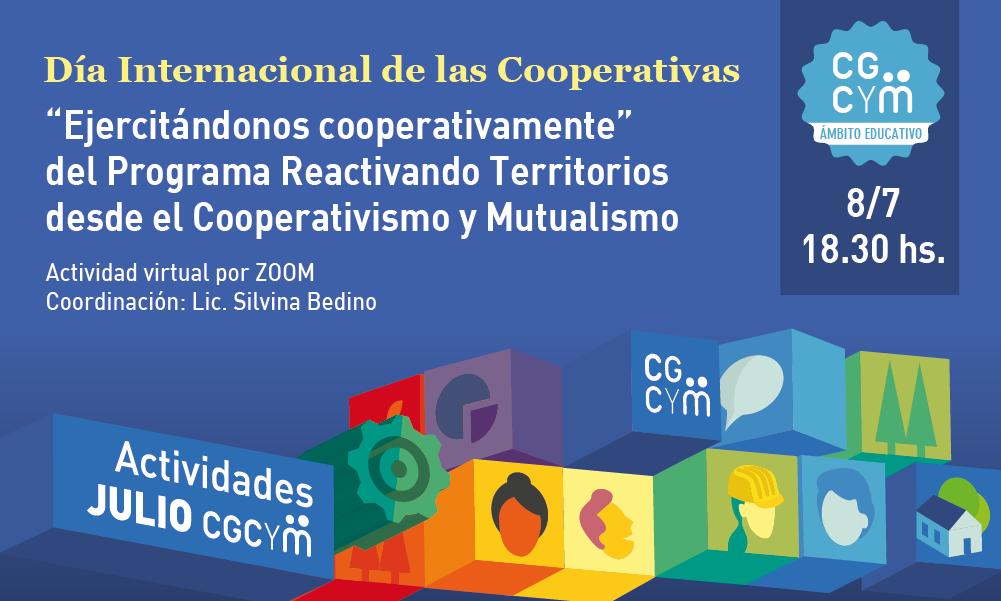 """CGCyM Ámbito Educativo organiza la charla """"Ejercitándonos cooperativamente"""""""