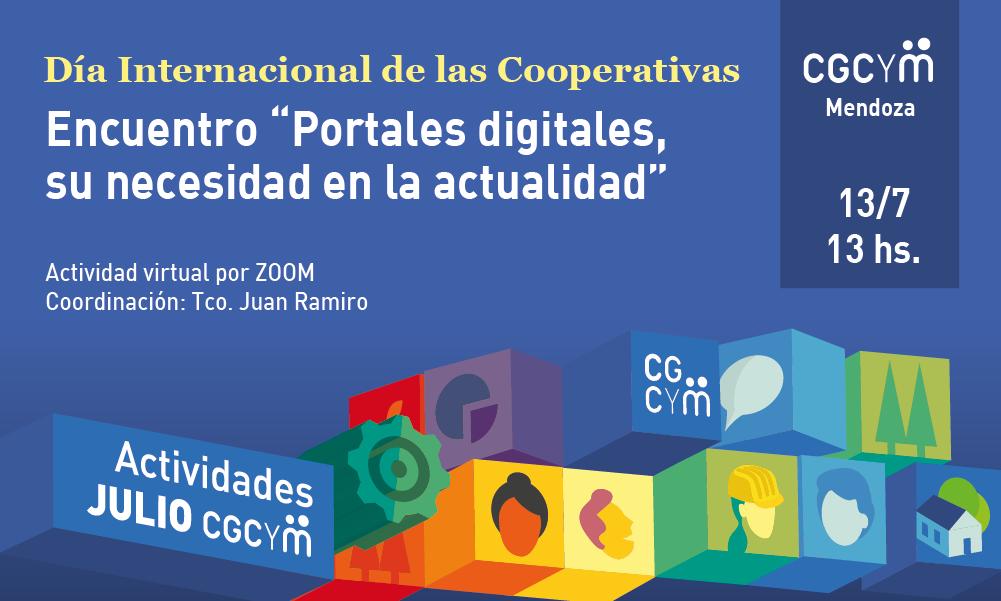 """CGCyM Mendoza organiza el Encuentro """"Portales digitales, su necesidad en la actualidad"""""""