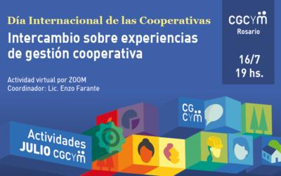 """CGCyM Rosario organiza el encuentro """"Intercambio de experiencias de gestión cooperativa"""""""