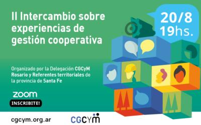 Se viene el II Intercambio sobre Experiencias de Gestión Cooperativa
