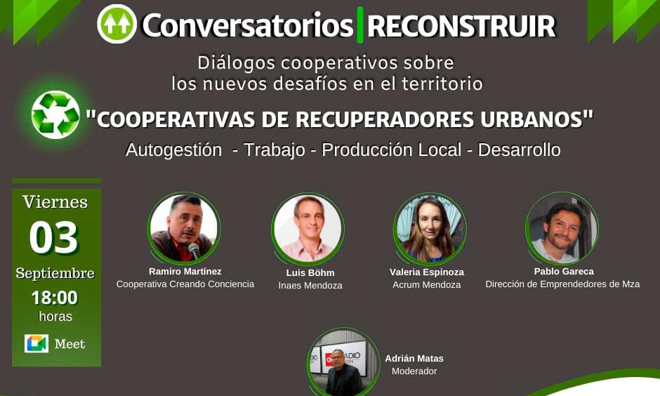 """CGCyM auspicia el Conversatorio sobre """"Cooperativas de recuperadores urbanos"""""""